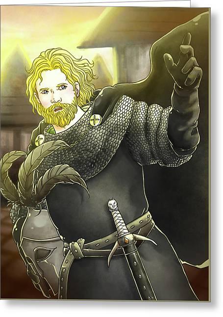 Robin Hood Baron Fitzwalter Greeting Card