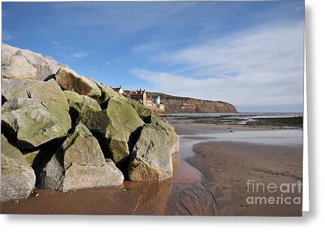 Robin Hoods Bay Greeting Card