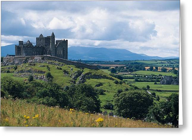 Rock Of Cashel, Co Tipperary, Ireland Greeting Card
