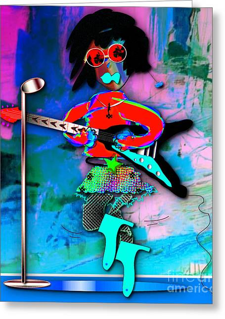 Rocker Lucy Collection Greeting Card