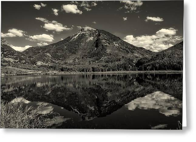 Rocky Mountain Reflections Greeting Card by Mountain Dreams