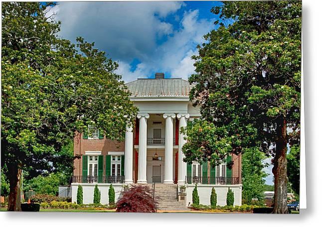 Rogers Hall - University Of North Alabama Greeting Card