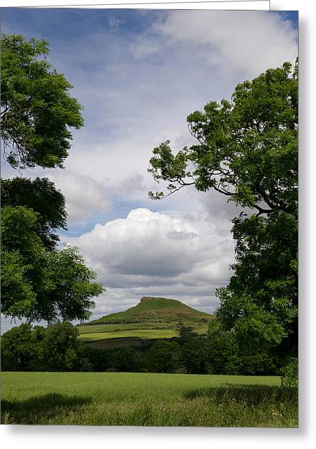 Roseberry Topping Greeting Card by Gary Eason