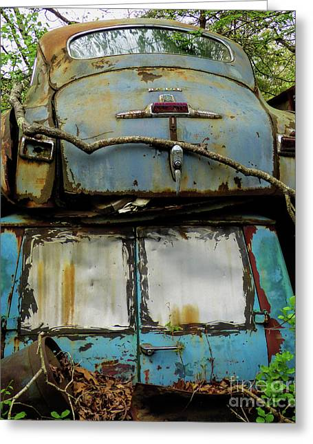 Rusted Series Greeting Card by Laura Atkinson