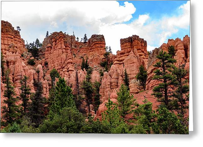 Scenic Byway 12 - Along The Highway - Southern Utah Greeting Card