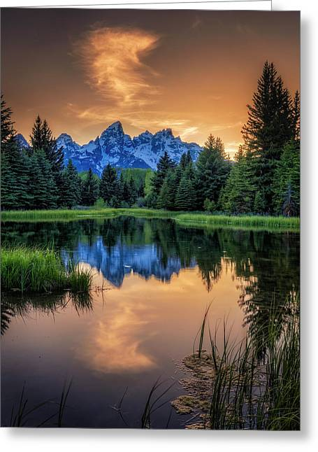 Schwabacher's Ghost Greeting Card