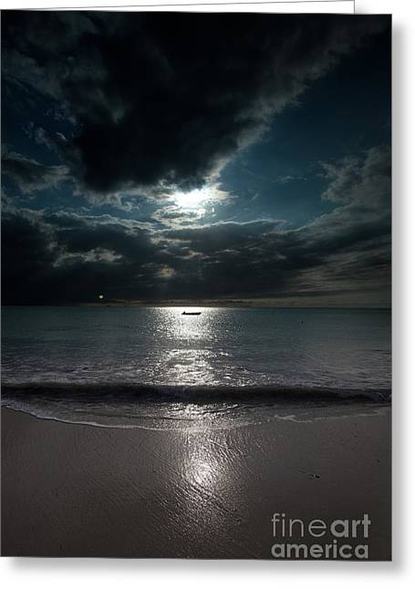 Sea And Clouds Greeting Card