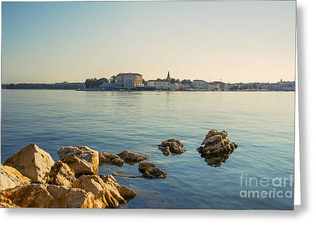 Seascape Greeting Card by Svetlana Sewell