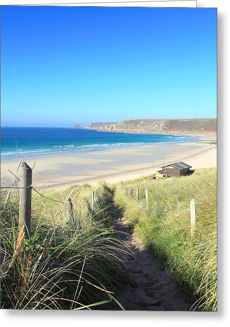 Sennen Cove Greeting Cards - Sennen Cove Greeting Card by Carl Whitfield