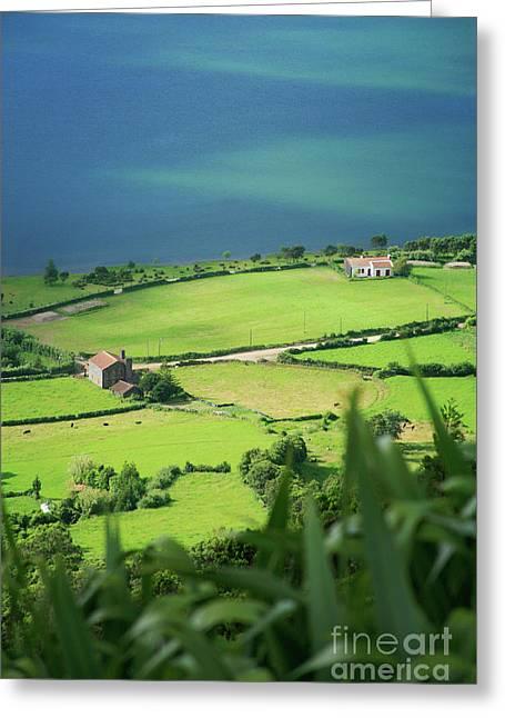 Sete Cidades - Azores Greeting Card by Gaspar Avila