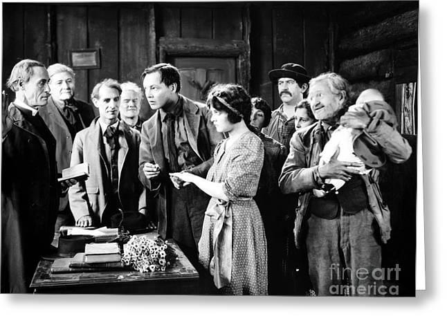 Silent Film Still: Wedding Greeting Card by Granger