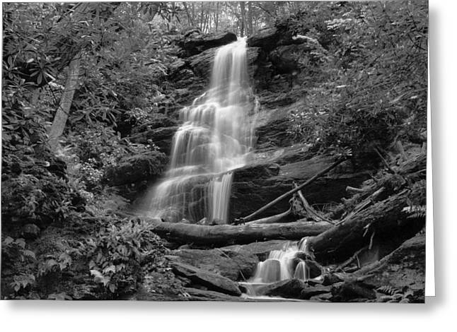 Silverspray Falls Greeting Card