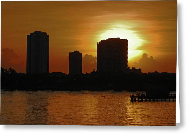 Greeting Card featuring the photograph 2- Singer Island by Joseph Keane