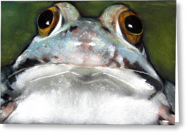 Sir Frog Greeting Card by Joyce Geleynse