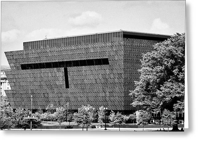 smithsonian national museum of african american history and culture Washington DC USA Greeting Card by Joe Fox