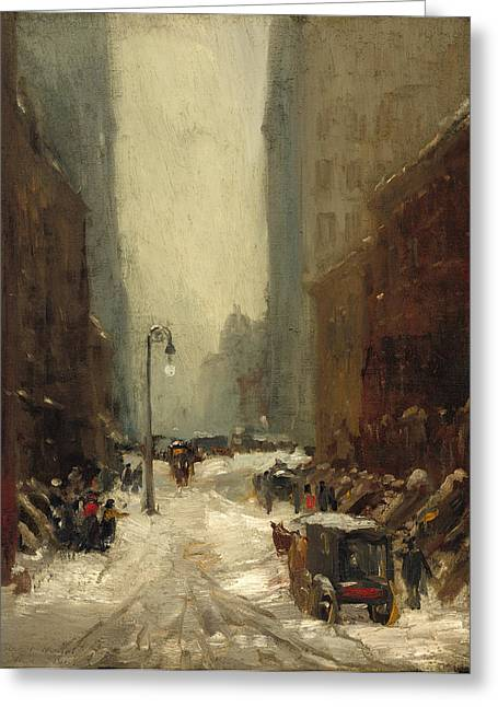 Snow In New York Greeting Card