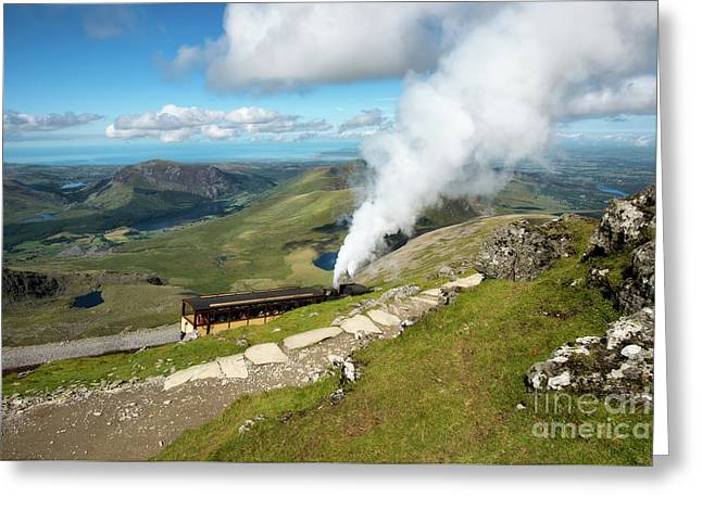 Snowdon Mountain Railway Greeting Card