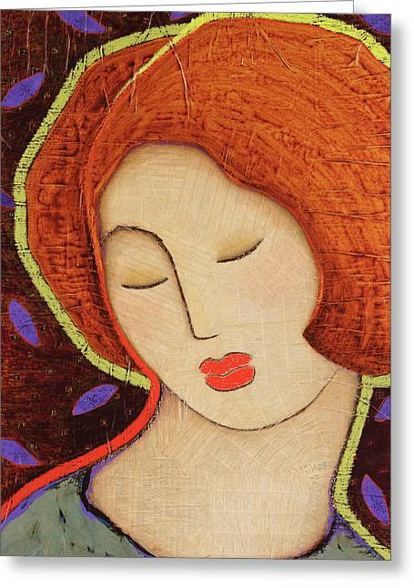 Devine Greeting Cards - Soul Memory Greeting Card by Gloria Rothrock