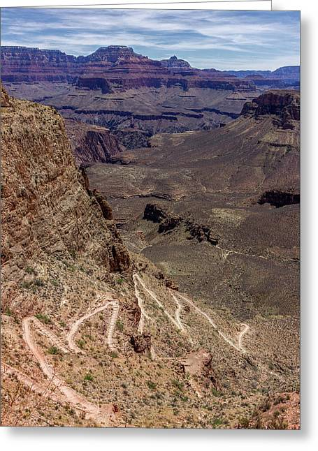South Kaibab Trail Greeting Card