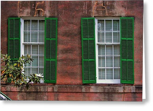 Southern Charm Greeting Card by JAMART Photography