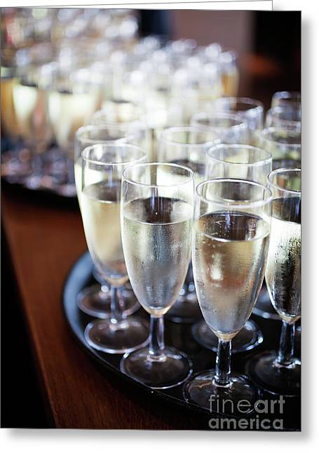 Sparkling Wine Greeting Card