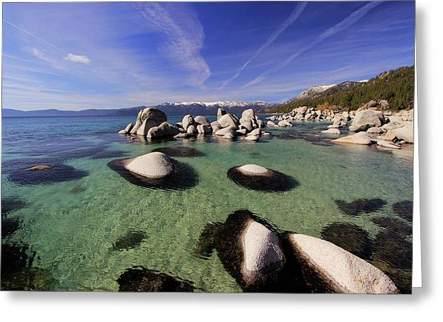 Greeting Card featuring the photograph Spring Clarity by Sean Sarsfield