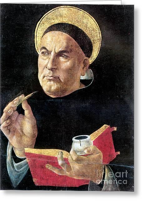 St. Thomas Aquinas Greeting Card by Granger