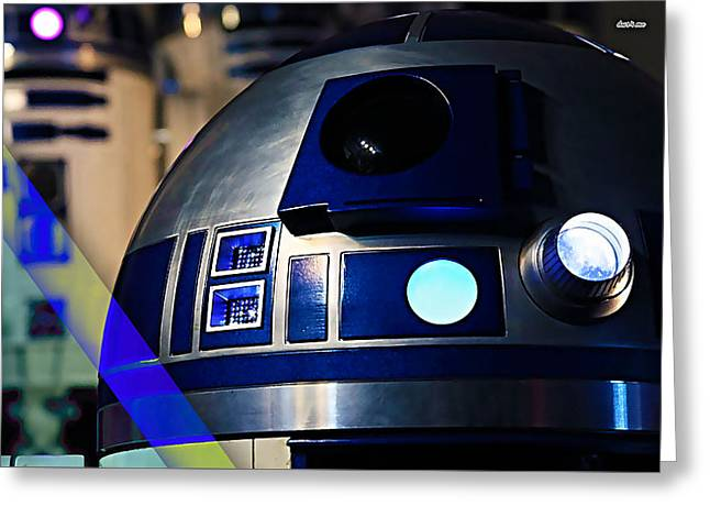 Star Wars R2-d2 Collection Greeting Card by Marvin Blaine