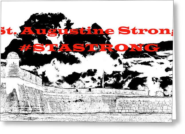 #stastrong Greeting Card