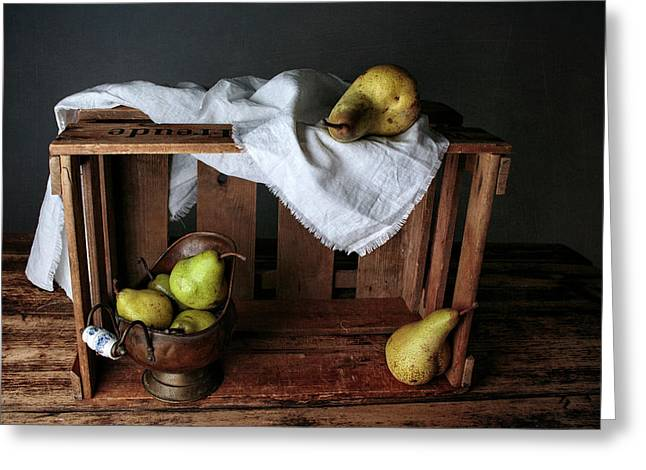 Still-life With Pears Greeting Card