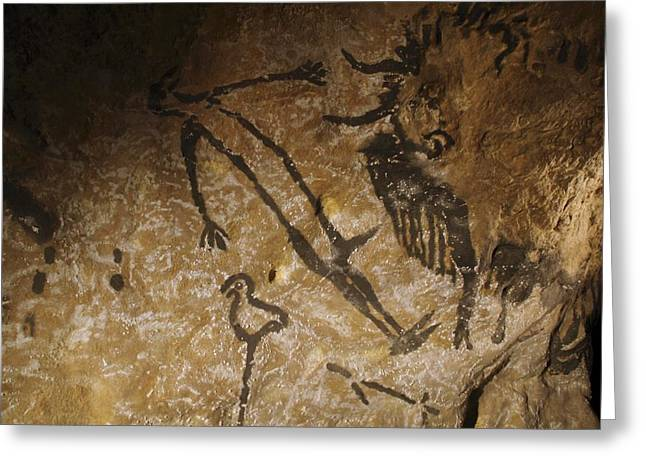 Stone-age Cave Paintings, Lascaux, France Greeting Card