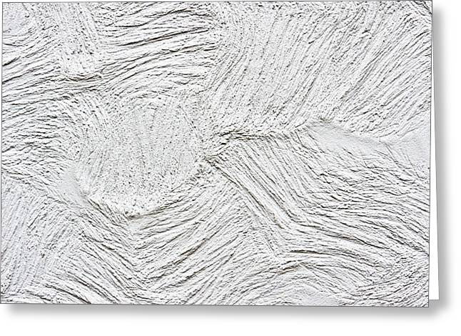 Stone Surface Greeting Card by Tom Gowanlock