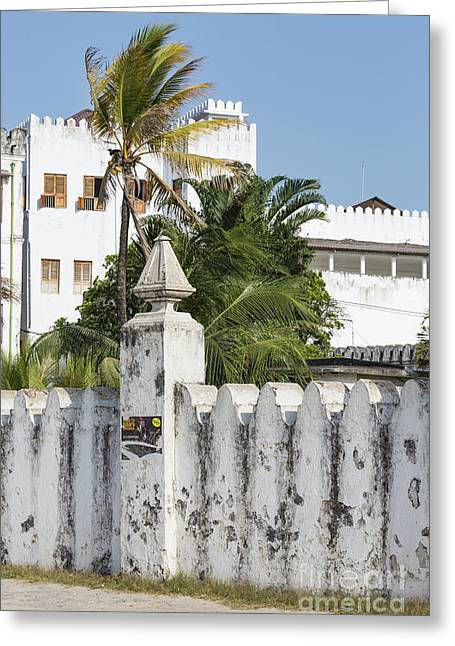 Stone Town The Old Town In Zanzibar City In Tanzania, Is A Unesco World Heritage Site Greeting Card by Mariusz Prusaczyk