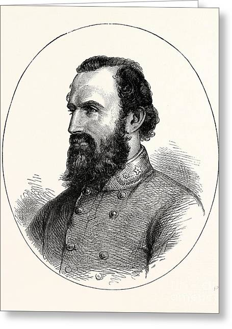 Stonewall Jackson, Greeting Card by American School