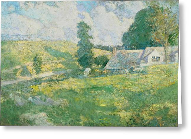 Summer Greeting Card by John Henry Twachtman
