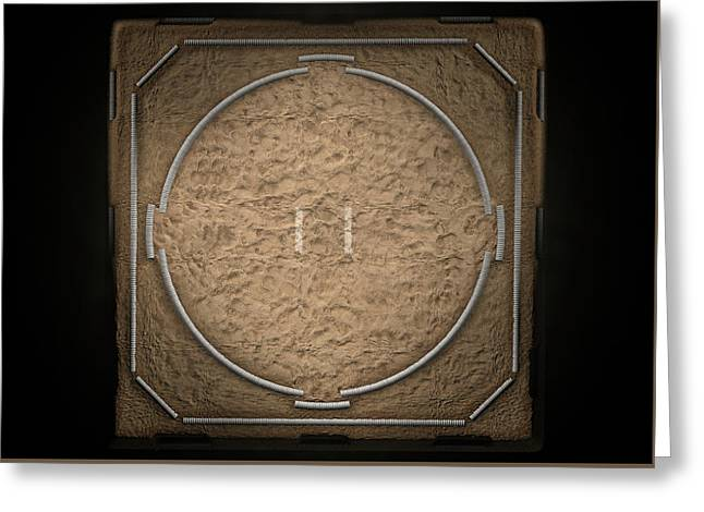 Sumo Ring Empty Greeting Card by Allan Swart