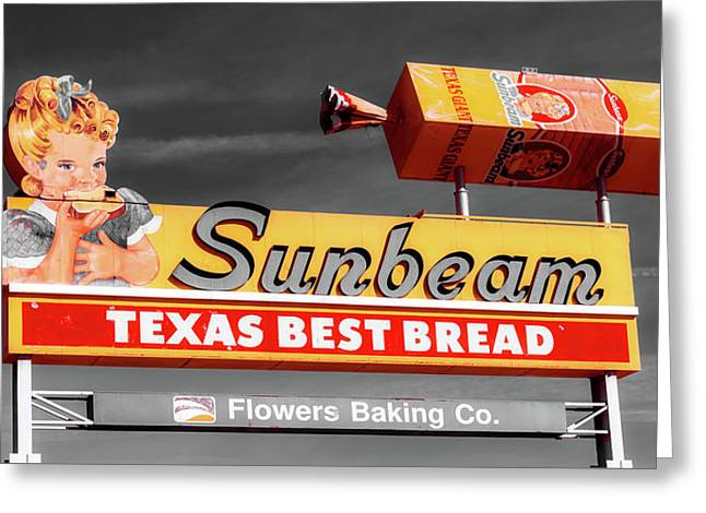 Sunbeam - Texas Best Bread Greeting Card