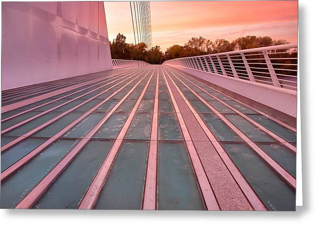 Sundial Bridge Greeting Card