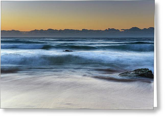 Sunrise By The Sea Greeting Card