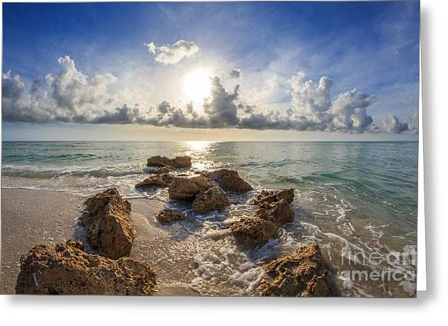 Sunset Naples Fl Greeting Card