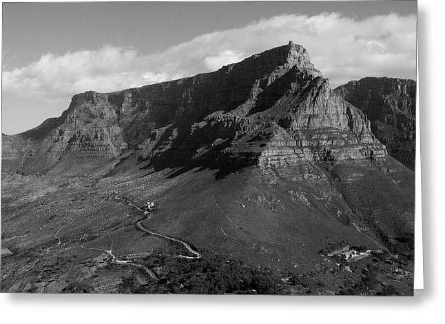 Table Mountain - Cape Town Greeting Card
