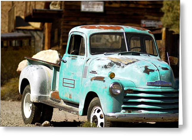 Techatticup Mine Ghost Town Nv Greeting Card by Marti Green