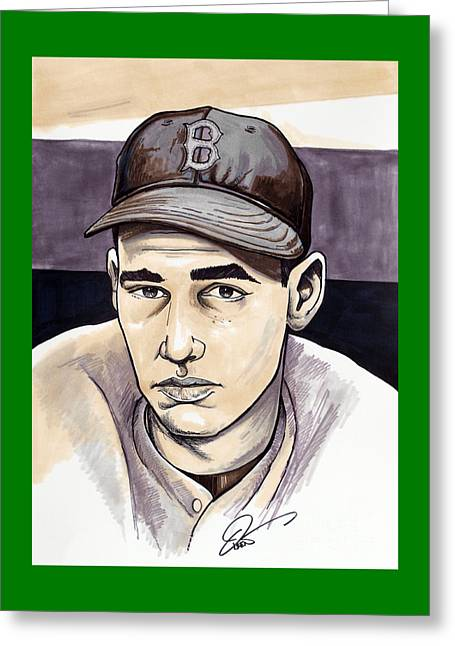 Ted Williams Greeting Card