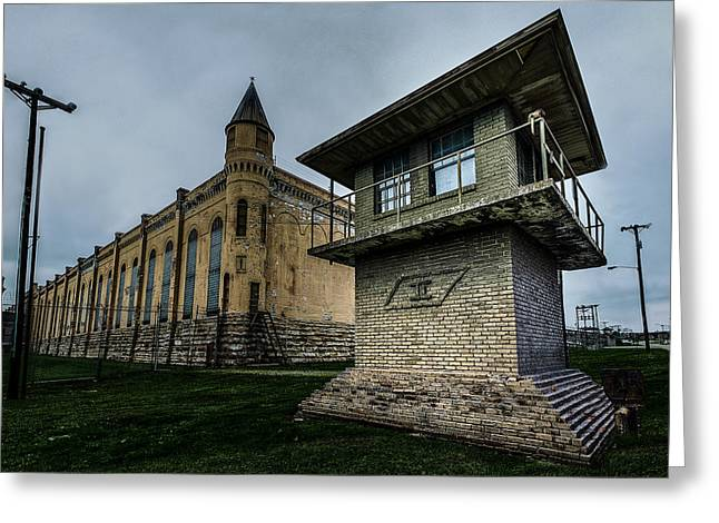 Tennessee State Penitentiary Greeting Card by Brett Engle