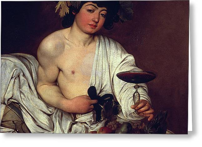 The Adolescent Bacchus Greeting Card