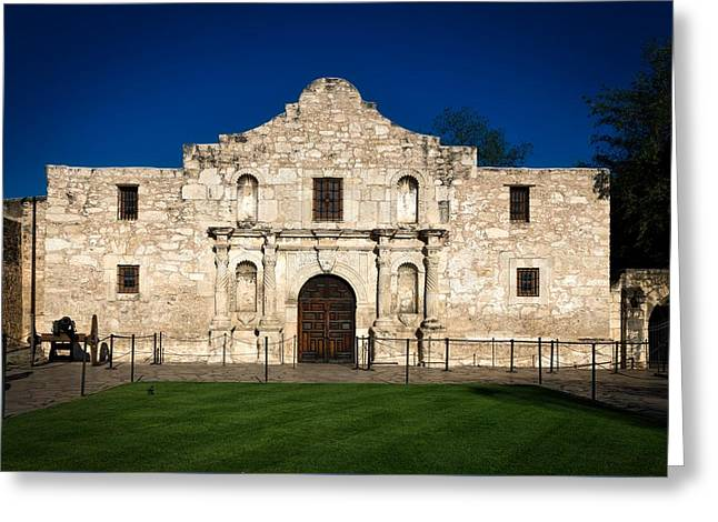 The Alamo Greeting Card by Mountain Dreams