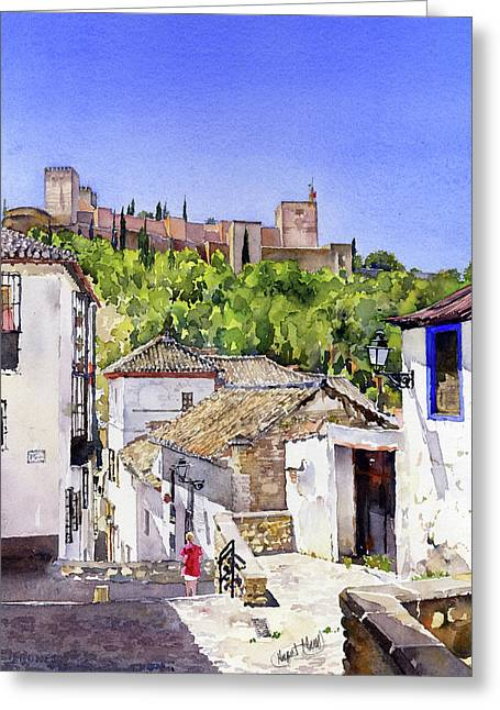 The Alhambra From The Albaicin Greeting Card