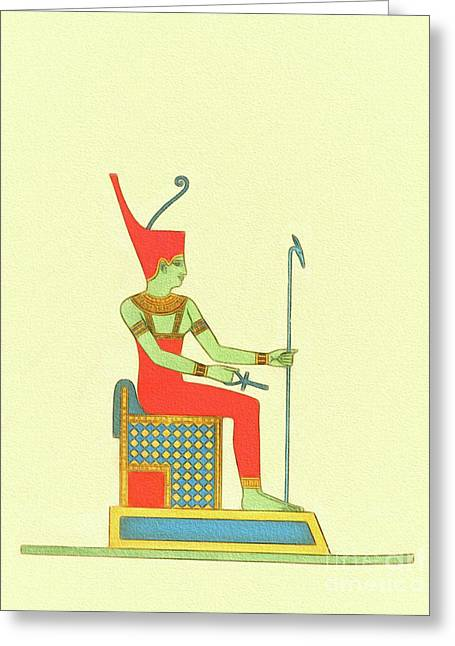 The Art Of Ancient Egypt Greeting Card