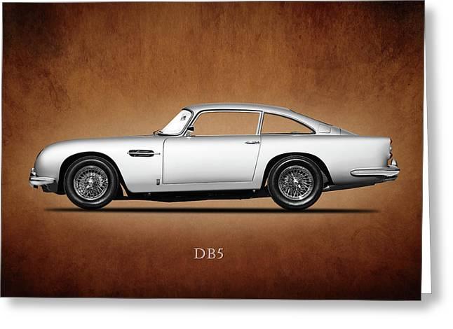 The Aston Martin Db5 Greeting Card