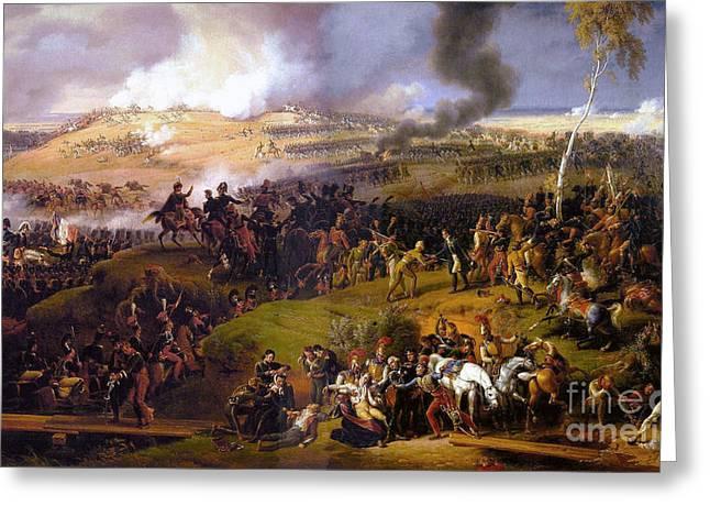 The Battle Of Borodino  Greeting Card
